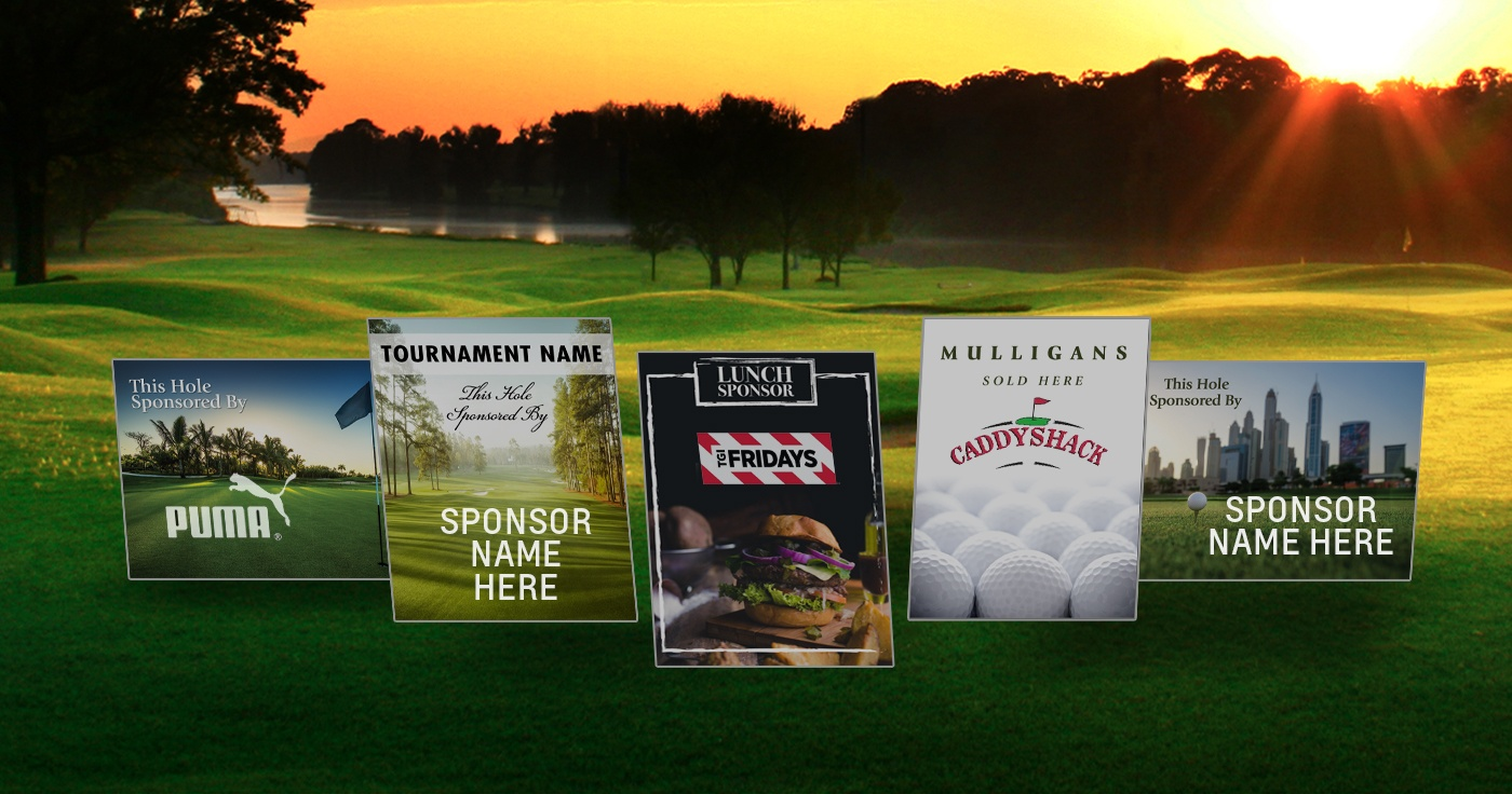 Golf Event Signage - National Hole-In-One