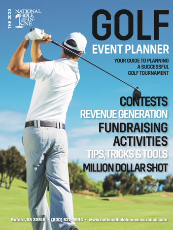 Golf Event Planner 2020 Cover
